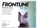 MERIAL 004FLTSM-CAT Frontline for Cats, All Weights, 6 Month
