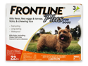 MERIAL 004FLTSP-0-22 Frontline Plus Flea & Tick for Dogs Up to 22 lbs, 3 Month