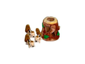 KYJEN 022KYJ-01056 Hide-A-Squirrel Plush Puzzle Dog Toy