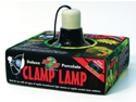 Zoo Med Laboratories - Deluxe Porcelain Clamp Lamp- Black 5.5 Inch - LF-11