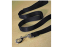 Hamilton Pet Company - Single Thick Nylon Lead- Black .75 X 6 - SLT 6BK