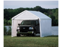 ShelterLogic 23529 10 ft. ×20 ft.  Canopy, 1-.38 in.  8-Leg Frame, White Cover, Enclosure Kit