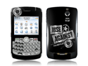 Zing Revolution MS-RISA20006 BlackBerry Curve- 8300-8310-8320- Rise Against- Patched Up Skin