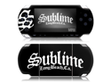 Zing Revolution MS-SUBL50014 Sony PSP Slim- Sublime- Stamp Logo Skin