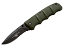BOKER PLUS 01KAL65B Kalashnikov 65 Anniversary Folding Knife with 3.25 in. Black Serr