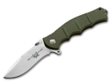 BOKER PLUS 01KAL650 Kalashnikov Flipper 65 Anniversary Knife with 4 in. Satin Plain