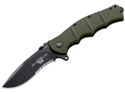 BOKER PLUS 01KAL651 Kalashnikov Flipper 65 Anniversary Knife with 4 in. Black Serr