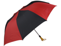Haas-Jordan by Westcott 4355 58 in. Folding Golf Umbrella Red-Black