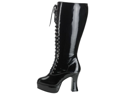 WMU 569655 Size 8 Exotica 2020X Leather Lace-Up Boot