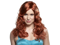 WMU 552562 Long Curly Jessica Wig - Red