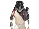 WMU 564306 Predator Deluxe Latex Mask with Separate Dreadlocks