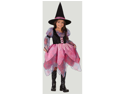 WMU 567413 Witch Wonderful Child Dress with Hat - Large 12-14