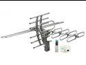QUANTUM FX ANT-106 HD-DTV-UHF-VHF-FM 360&deg- Rotating Antenna