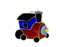 Switchables SWITCHSW148 Stained Glass Train Suncatchers