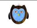 Switchables SWITCHSW203 Blue Owl Art Decor Nightlight