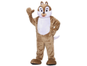 WMU 1178141 Plush Chipmunk Mascot Jumpsuit with Eye Mesh