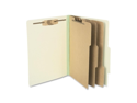 Acco Brands, Inc. Acco Brands, Inc. Classification Folders, 4 in. Exp,Letter,3 Partition,Leaf Green