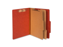 Acco Brands, Inc. Acco Brands, Inc. Classification Folders, 3 in. Exp,Letter,2 Partition, Earth Red