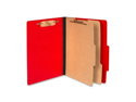 Acco Brands, Inc. Acco Brands, Inc. Top-Tab Folders, with  Fasteners,3 in.Exp,Letter,10-BX,Red