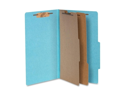 Acco Brands, Inc. Acco Brands, Inc. Classification Folders, 3 in. Exp, Legal, 2 Partition, Sky Blue
