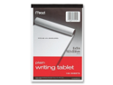 Mead Mead Writing Tablet,Top-bound,Plain,15 lb,6 in.x9 in.,100 Sh,White- Case of 2