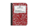 Mead Mead Memo Book, Narrow Ruled, 80 Sheets, 5-.5 in.x4 in., Assorted- Case of 2