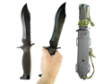 WMU 12 Inch Extra Sturdy Jungle King Hunting Knife with
