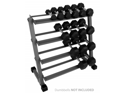 XMark Fitness XM-3109 3 ft. Four Tier Dumbbell Rack