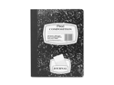 Mead Mead Composition Book, Special Ruled, 9-.75 in.x7-.5 in., Black Marble