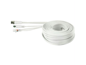 SWANN SWPRO-30MCAB 3-In-1 Multi-Purpose BNC Cable (100 ft)