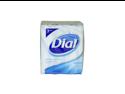 Dial U-BB-1331 White Antibacterial Deodorant Soap - 3 x 4 oz - Soap