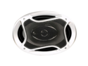 Naxa Car Speakers 6X9 in. 3Way Pair 1000Watt Coaxial - Black - NCS777