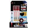 Life Gear LG437 3 Count Emergency Glow Flare