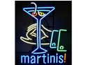 "Neonetics 5MARTN 22"" x 26"" x 4"" Martinis Neon Sign"