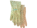Boss Gloves 624 Ladies Cotton Floral Gloves