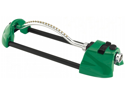 Dramm Corporation 10-15004 Green Premium Metal Oscillating Sprinkler With Brass