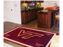 FanMats F0006316 4x6 Virginia Tech Rug