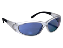 3M 90983-00002T 7L x 1.5W x 2H Safety Glasses with Blue Mirror