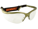Bangerz HS4500GC Sports Eye Protection - Gun Metal Frame-Clear Lens
