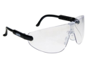 AO Safety 247-15152-00000-100 Lexa Black Clr Mediumm Safety Glasses Clear L