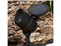 Smart Solar 3483WRL1 Equinox Aluminum Solar Spotlight with Retractable Solar Panel