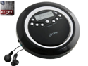 Gpx Cd Player Plays Mp3 Lcd Display Include Earbud - Black - PC800B