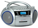 Supersonic SC-183UM Portable MP3- CD- WMA Player- Cassette Recorder- AM- FM Radio with USB- SD- MMC Inputs