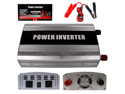 1000 Watt DC Power Inverter to AC - two ground outlets