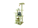 "Armarkat 65"" Wooden Step Pet Cat Tower Tree Condo Scratcher Furniture Post Play Kitten House Beige"