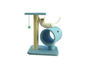 "Armarkat 26"" Wooden Step Pet Cat Tower Tree Condo Scratcher Furniture Play Kitten House Sky Blue"