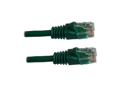 Category 5E, Green Ethernet Network, Patch Cable, Molded Snagless Boot, 75 feet