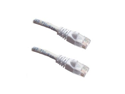 Category 5E, White Ethernet Network, Patch Cable, Molded Snagless Boot, 3 feet