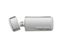 Super Talent 128 GB SuperCrypt USB 3.0 Plug and Play Flash Drive (ST3U28SCS-128GB) - Gray