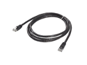 Ziotek CAT6 Patch Cable W/ Boot - 5ft Black